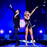 Justin Timberlake on Stage With Taylor Swift
