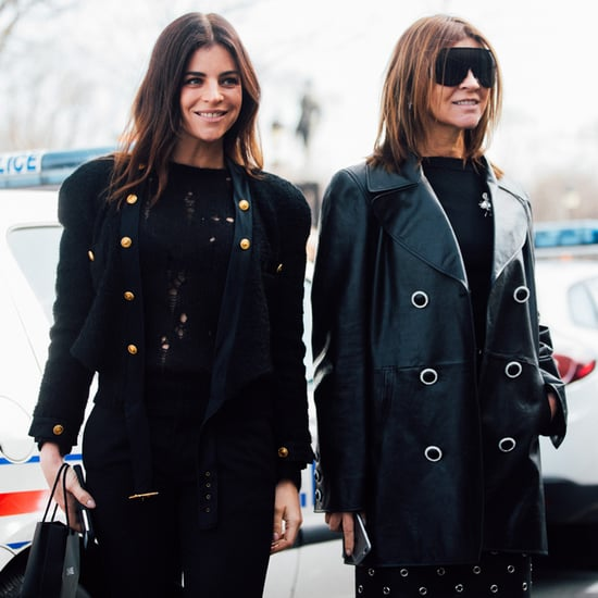 Carine Roitfeld and Julia Restoin Roitfeld Best Outfits