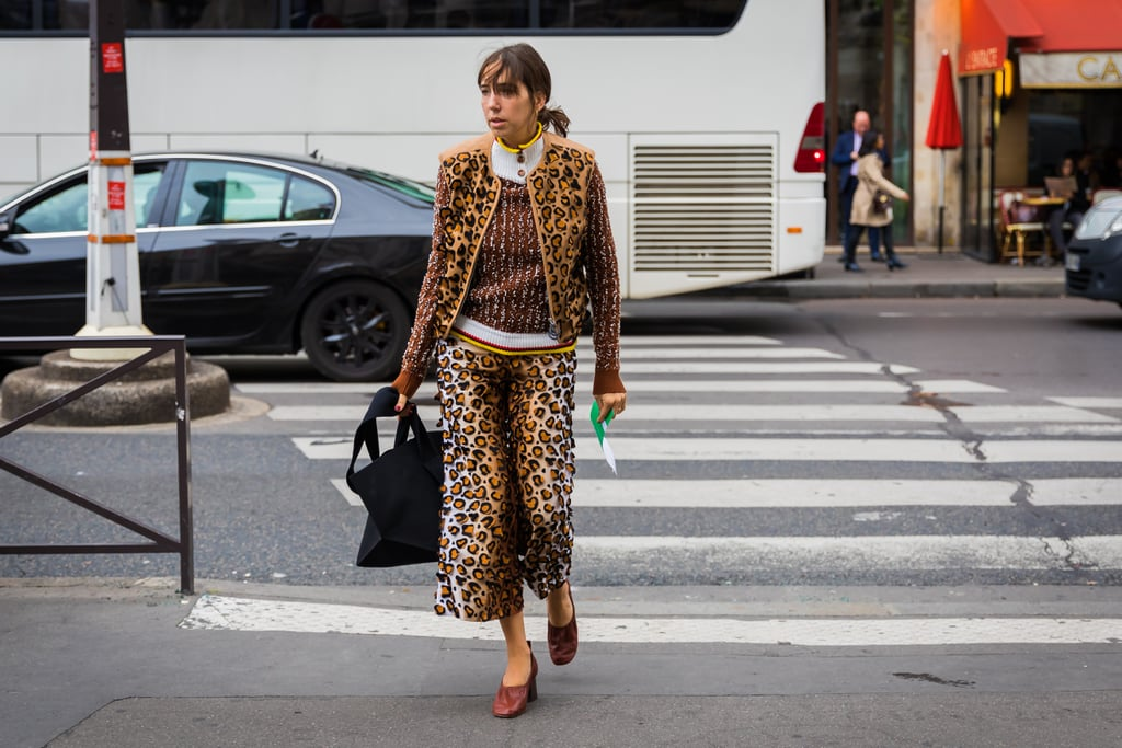 Coordinate With a Textured Knit to Construct a Look With Lots of Dimension