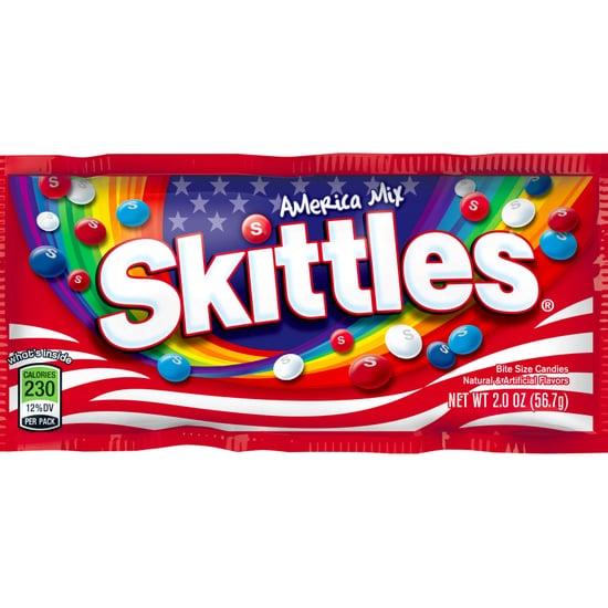 Skittles America Mix and Juicy Fruit America Pop