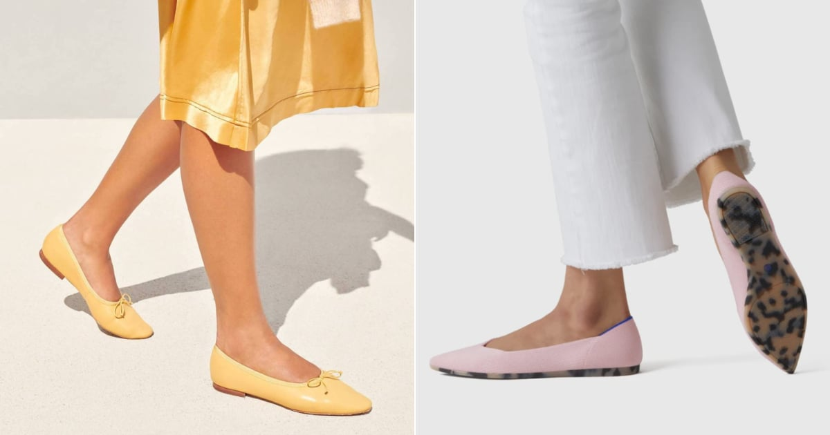The 20 Most Cute and Comfortable Flats You'll Never Tire of Wearing