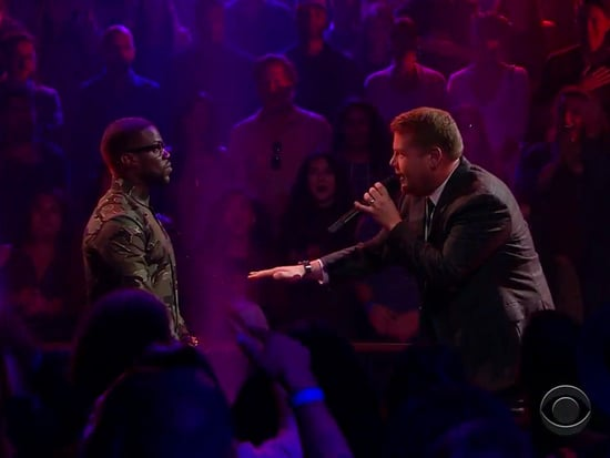 WATCH: Kevin Hart and James Corden Trade Insults in Heated Rap Battle