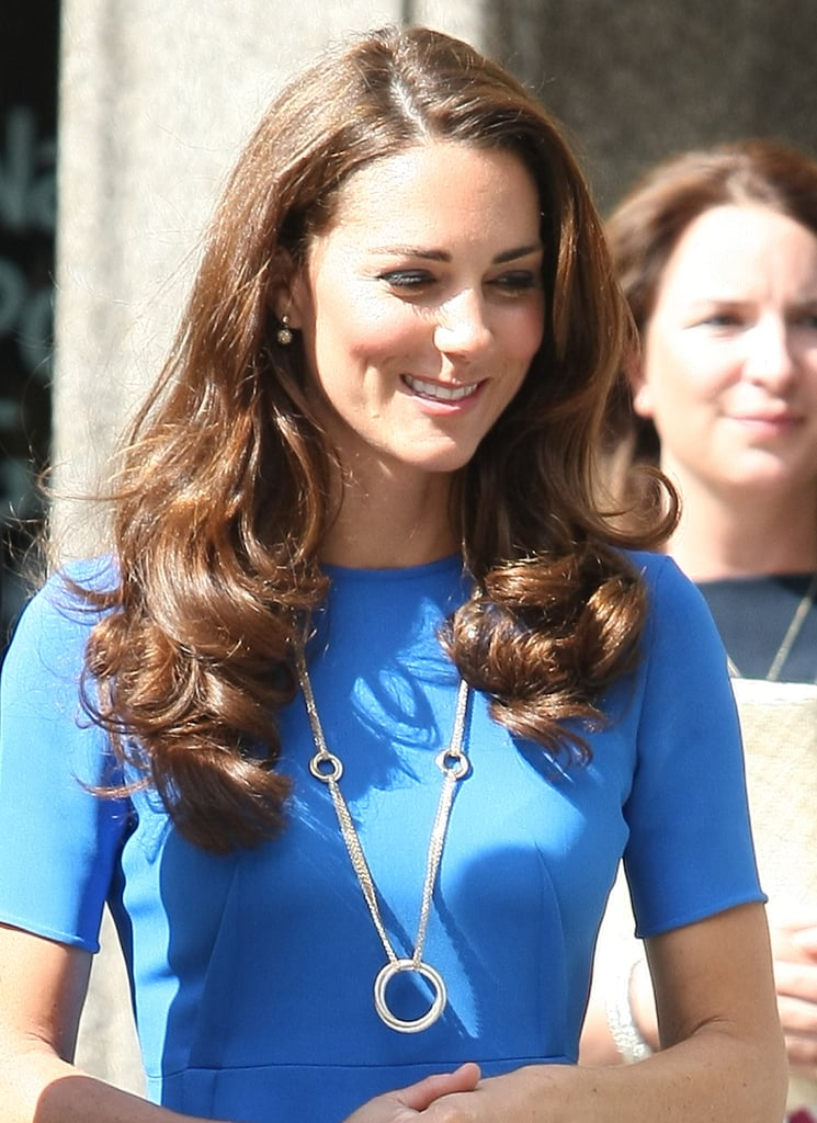 Kate Middleton left the National Portrait Gallery.
