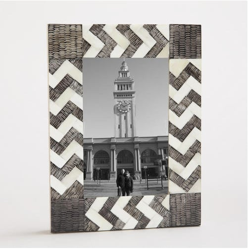 Graphic but still neutral enough to fit in any household, this Simbra Zigzag Frame ($15) looks especially beautiful when paired with black-and-white photography. Gift it to a loved one with a picture of a shared experience or a fond memory.