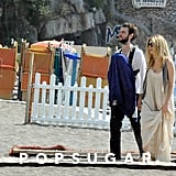Sienna Miller, Tom Sturridge, and Marlowe Sturridge took a family vacation to Positano.