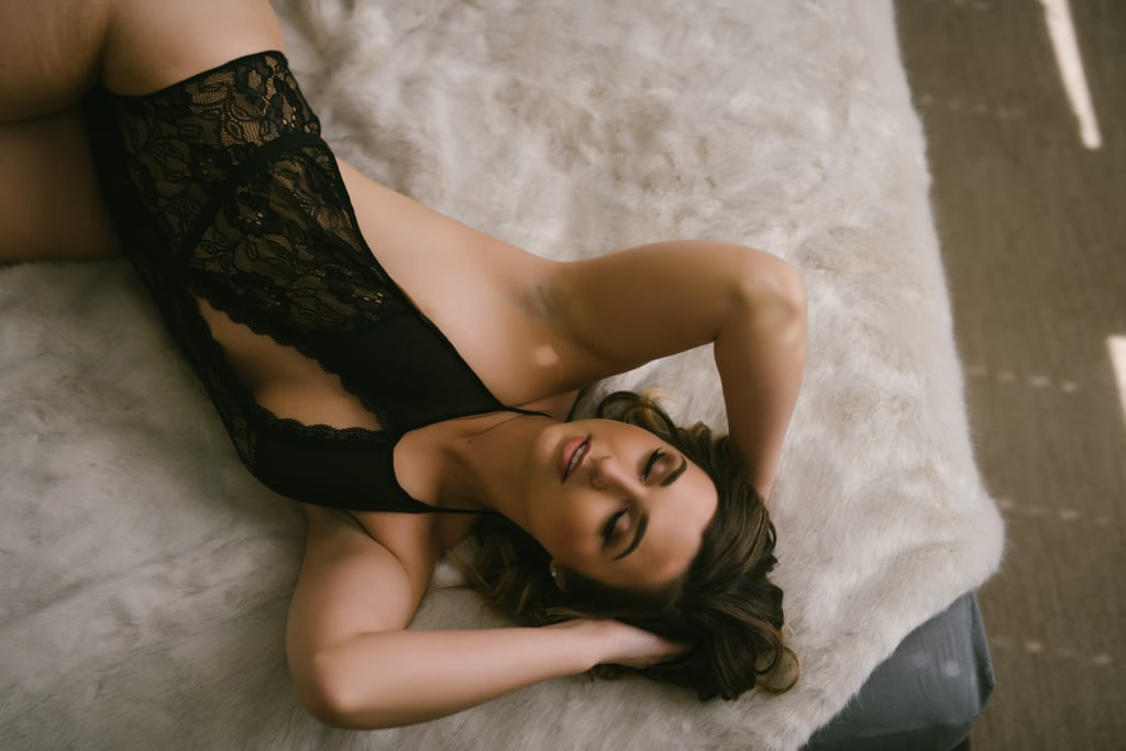 A Woman's Empowering Boudoir Shoot