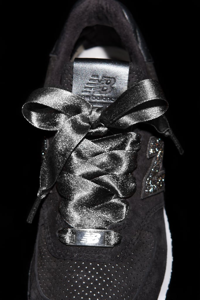 Here's a Close-Up of Those Ribbon Laces