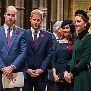 Kate, Will, Harry, Meghan at Royal Foundation Dinner 2018