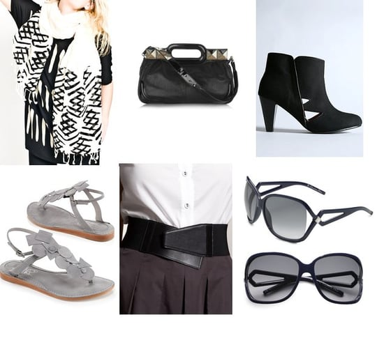 Geometric Accessories In Black and White