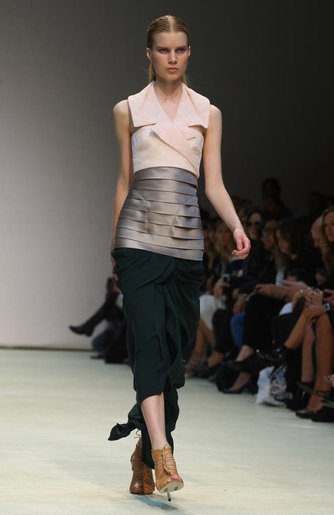Marios Schwab Debuts Three-Way Layering for Spring 2010