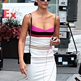 Jessica Alba Fits Work and Play Into Her NYC Stay