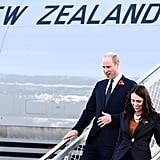 Prince William's New Zealand Tour April 2019
