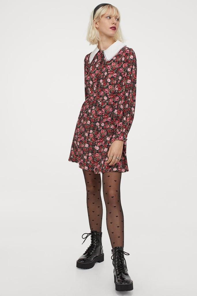 Large-collared Dress