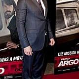 Ben Affleck looked dapper in a suit at this Argo premiere in Washington DC.