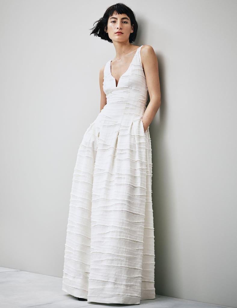 H&M Conscious Collection Linen and Silk-Blend Dress (Sold Out)