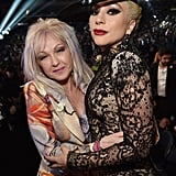 Pictured: Cyndi Lauper and Lady Gaga