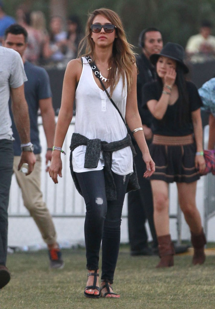 You don't need to be strolling the Coachella grounds to score 7 For All Mankind ripped skinny jeans ($172, originally $214. Just add a tank and your favorite sandals to create your own concert ensemble. Enter code MOMMYDEAREST to get 20 percent off.