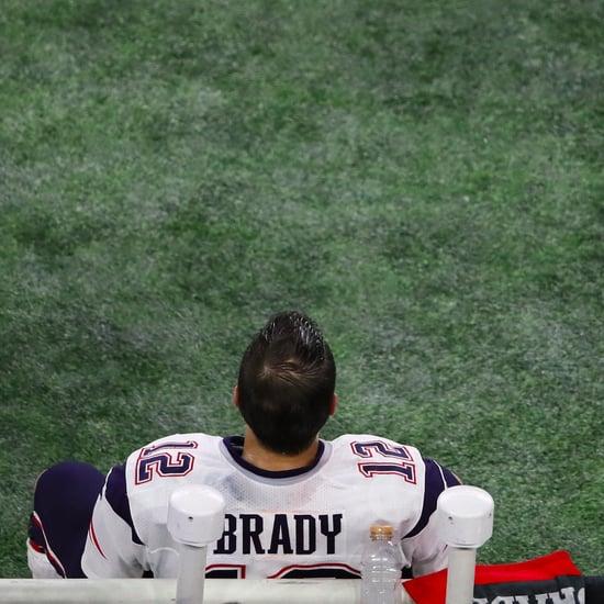 Tom Brady Looking Sad at the Super Bowl Memes