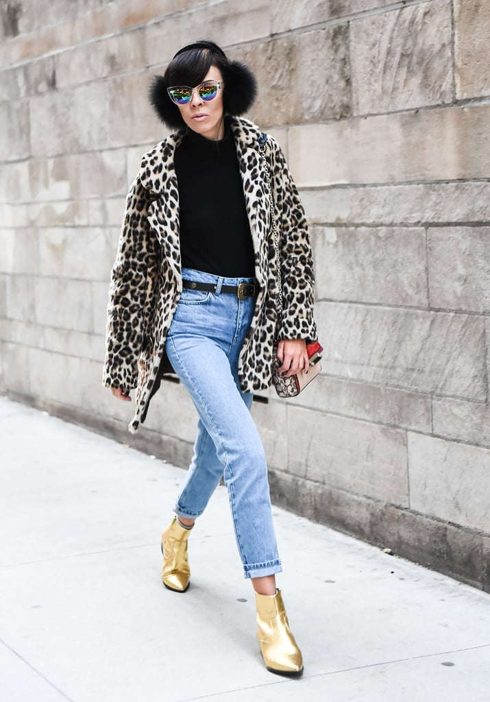 It's hard to imagine a more iconic coat print than leopard. It's back season after season, so you'll never go wrong with this pick while packing.