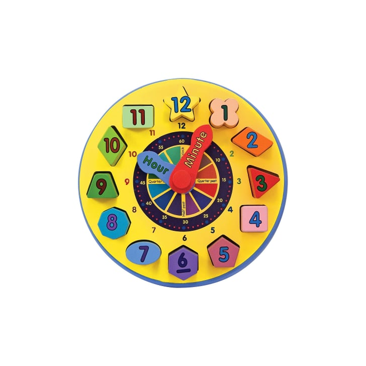 Melissa & Doug Wooden Shape Sorting Clock   Best Gifts For ...