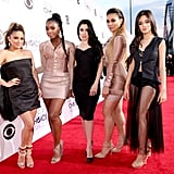 In 2015, Fifthy Harmony looked fierce on the red carpet.