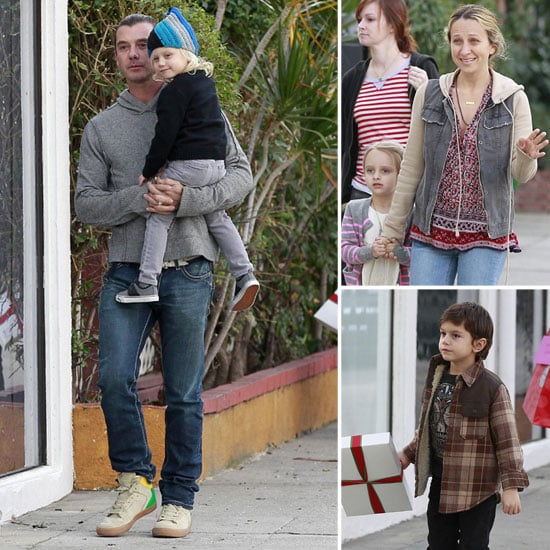 Gavin Rossdale, Kingston & Zuma at Harlow's Party Pictures
