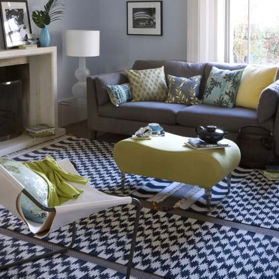 The Living Room No Sugar: Casa Quickie: Patchwork Rugs