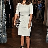 Salma Hayek checked out Stella McCartney.