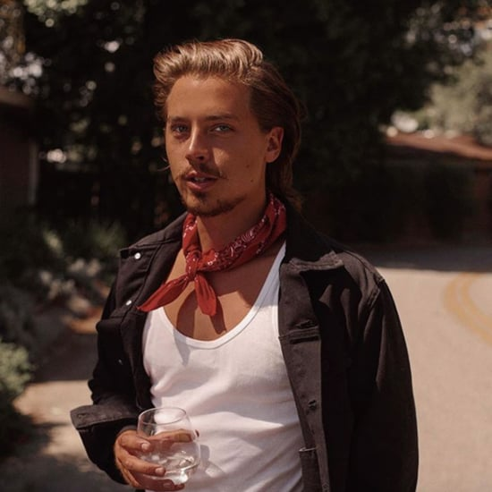 Cole Sprouse Grows a Social-Distancing Mustache