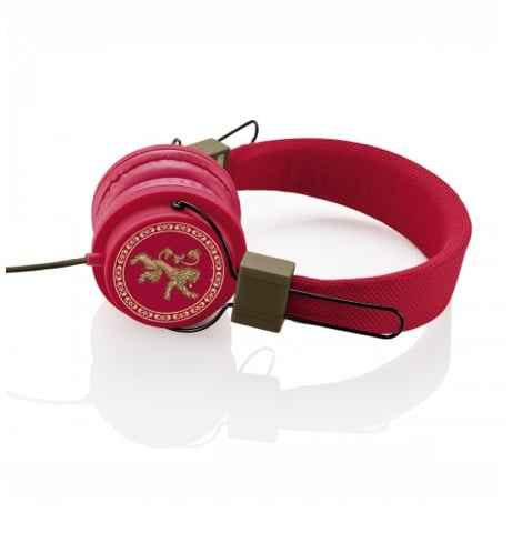 Game of Thrones House Lannister On-Ear Headphones ($30)
