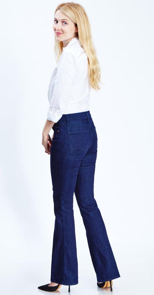 Real Women Wearing Flared Jeans