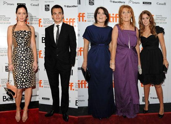 Photos of Emily Blunt, Rupert Friend, Sarah Ferguson, Princess Beatrice, Princess Eugenie at The Young Victoria at TIFF