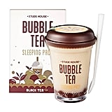 Etude House Bubble Tea Sleeping Pack Black Tea