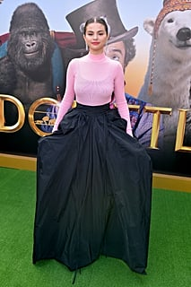 Selena Gomez Looks Like an Edgy Disney Princess in This Voluminous Givenchy Skirt