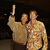 Dick Clark and Dennis Quaid taped American Bandstand's 50th . . . A Celebration! in May 2002.