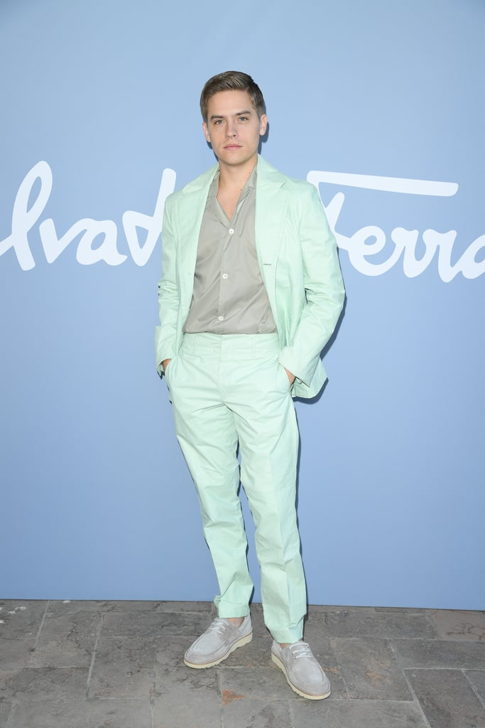 Dylan Sprouse at the Salvatore Ferragamo Milan Fashion Week Show