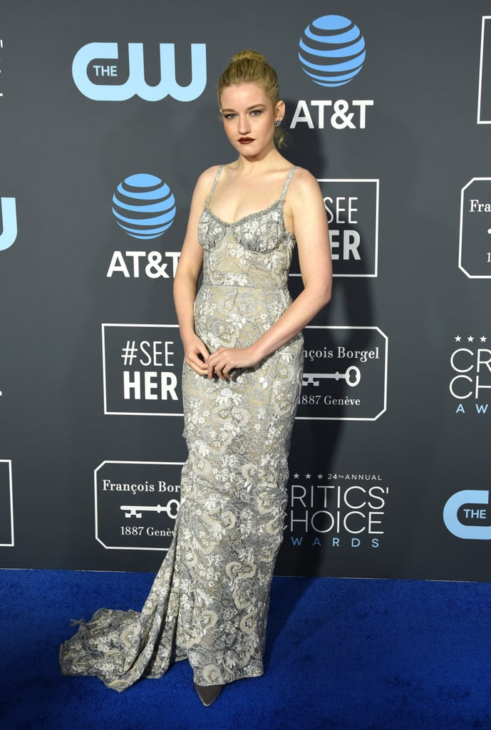 Julia Garner at the 2019 Critics' Choice Awards