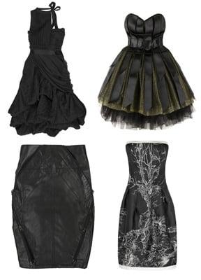 Halloween, Designer, Gothic, Dresses, Autumn 2008