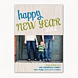 Joyous Photo New Year's Card ($15)