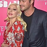 Lady Gaga and Taylor Kinney at the Rock the Kasbah Premiere