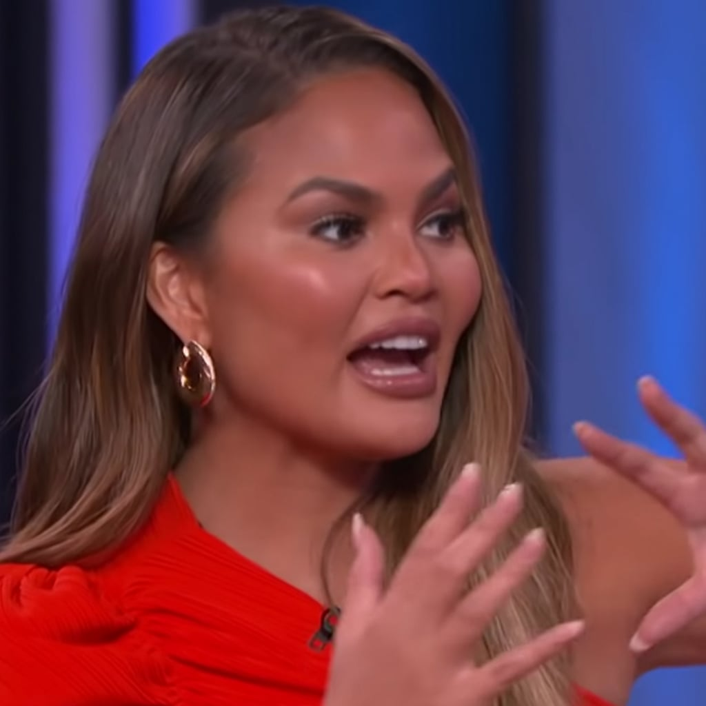 Chrissy Teigen on John Legend on Kelly Clarkson Show Video