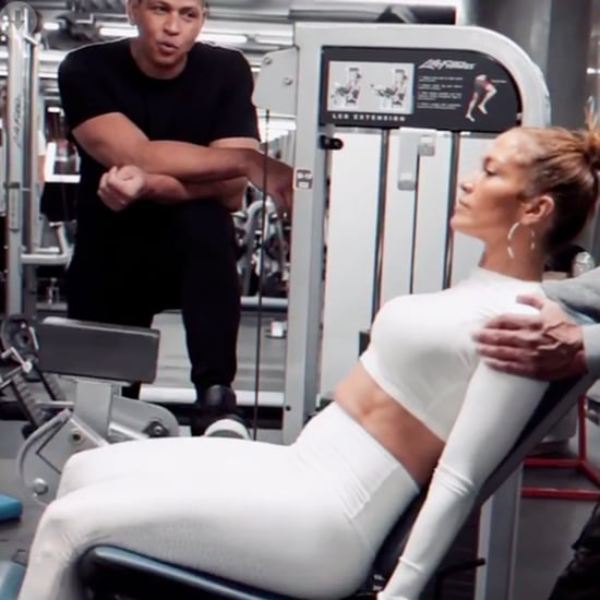 Watch Alex Rodriguez Propose to J Lo Again During a Workout