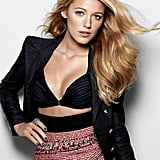 Blake Lively struck a sexy pose for Marie Claire in December 2009.