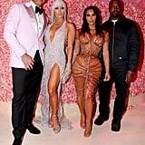 Alex Rodriguez, Jennifer Lopez,  Kim Kardashian, and Kanye West