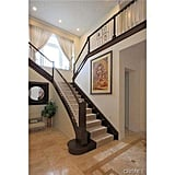 Kylie can make an entrance as she descends this grand staircase.