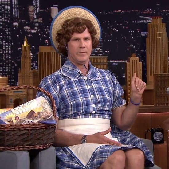 Will Ferrell as Little Debbie on Jimmy Fallon
