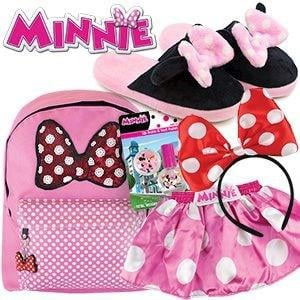 Minnie Mouse Showbag ($26) Includes:  Backpack  Bow headband  Nail polish set