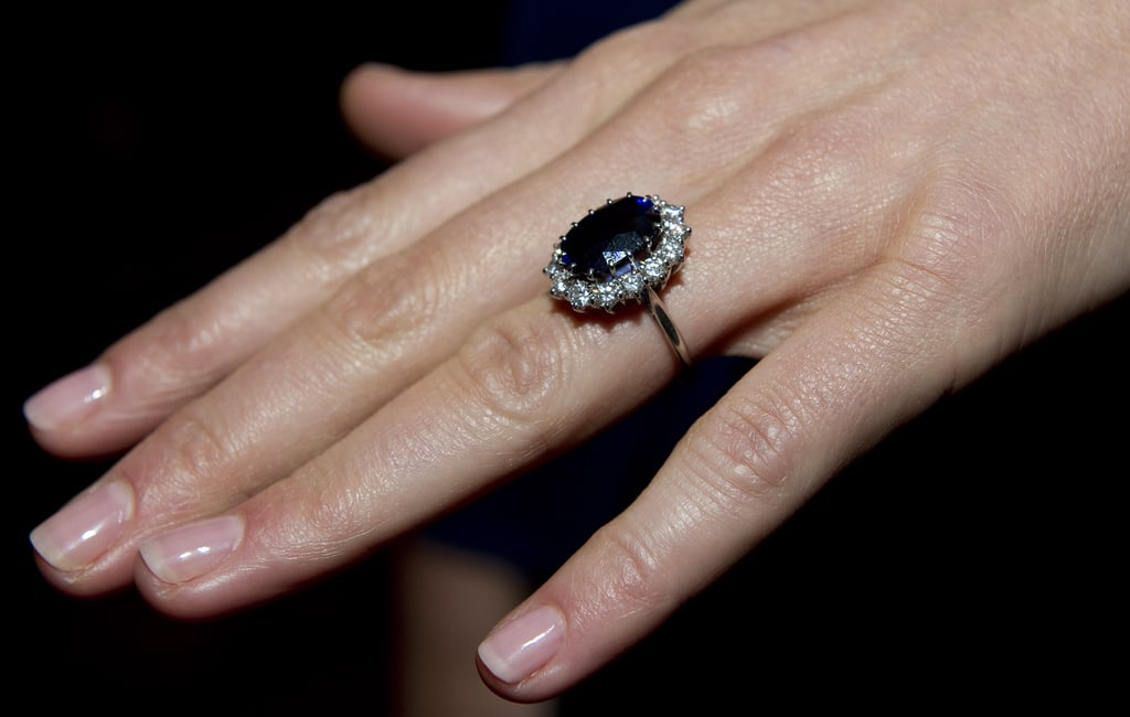 Kate Middletons Engagement Ring POPSUGAR Fashion