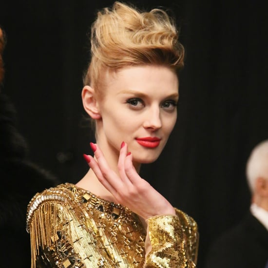 Badgley Mischka Hair and Makeup | Fashion Week Fall 2013