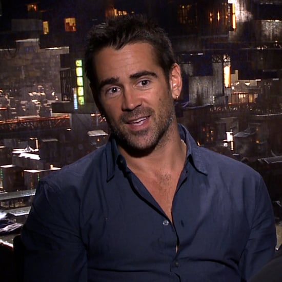 Colin Farrell Total Recall Interview (Video)